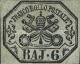 [Coat of Arms - Black Print on Colored Paper, type G]