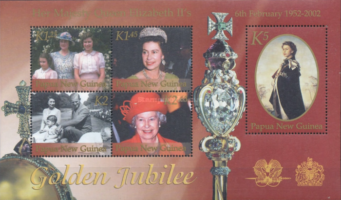 [The 50th Anniversary of Queen Elizabeth II's Accession, type ]