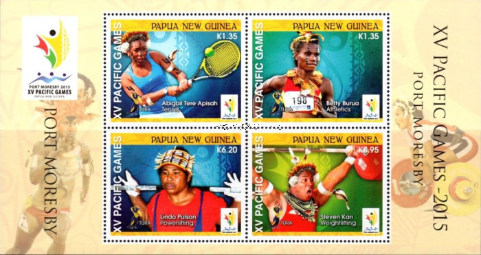 [The XVth Pacific Games - Port Moresby, Papua New Guinea, type ]