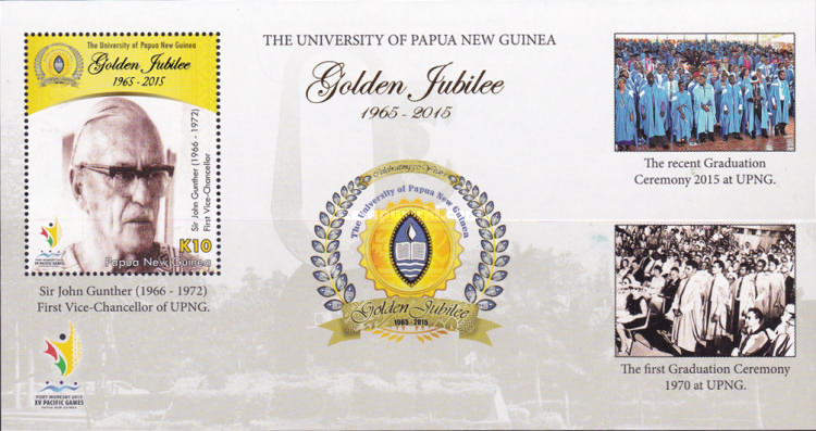 [The 50th Anniversary of The University of Papua New Guinea, type ]