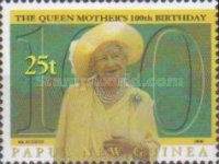[The 100th Anniversary of the Birth of Queen Elizabeth The Queen Mother, 1900-2002, type AET]