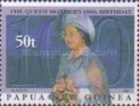 [The 100th Anniversary of the Birth of Queen Elizabeth The Queen Mother, 1900-2002, type AEU]