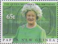 [The 100th Anniversary of the Birth of Queen Elizabeth The Queen Mother, 1900-2002, type AEV]