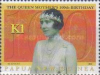 [The 100th Anniversary of the Birth of Queen Elizabeth The Queen Mother, 1900-2002, type AEW]