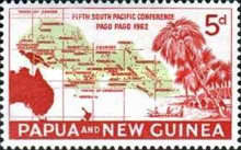 [The 5th Anniversary of the South Pacific Conference, Pago Pago, type AG]