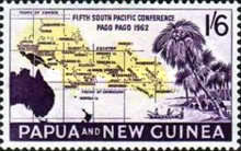 [The 5th Anniversary of the South Pacific Conference, Pago Pago, type AG1]