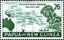 [The 5th Anniversary of the South Pacific Conference, Pago Pago, type AG2]