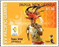 [The XVth Pacific Games - Port Moresby, Papua New Guinea, type BVH]