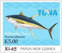 [Tuna Fishery - Overprinted, type BXM1]