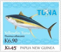[Tuna Fishery - Overprinted, type BXM2]