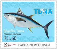 [Tuna Fishery - Overprinted, type BXN1]