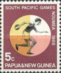 [South Pacific Games - Noumea, New Caledonia, type CG]