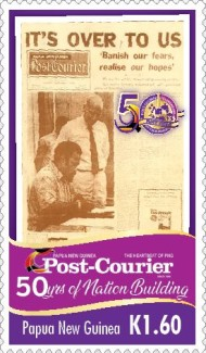 [The 50th Anniversary of Nation Building - Post Courier, type CHR]