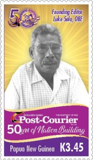 [The 50th Anniversary of Nation Building - Post Courier, type CHS]