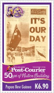 [The 50th Anniversary of Nation Building - Post Courier, type CHU]