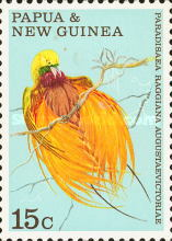 [Fauna Conservation - Birds of Paradise, type FF]