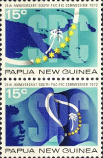 [The 25th Anniversary of the South Pacific Commission, type GT]