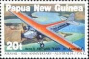 [The 50th Anniversary of the First Airmail - Australia-Papua New Guinea, type QM]