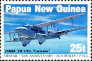 [The 50th Anniversary of the First Airmail - Australia-Papua New Guinea, type QN]