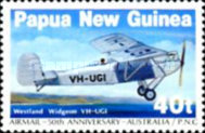 [The 50th Anniversary of the First Airmail - Australia-Papua New Guinea, type QO]