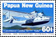 [The 50th Anniversary of the First Airmail - Australia-Papua New Guinea, type QP]