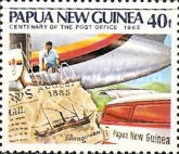 [The 100th Anniversary of the Papua New Guinea Post Office, type RR]