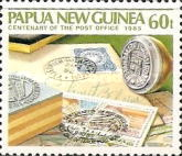 [The 100th Anniversary of the Papua New Guinea Post Office, type RS]