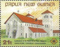 [The 100th Anniversary of the Anglican Church in Papua New Guinea, type WO]