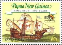 [The 500th Anniversary of the Discovery of America by Columbus and the World's Fair