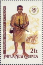 [The 50th Anniversary of the Second World War Campaigns in Papua New Guinea, type XH]