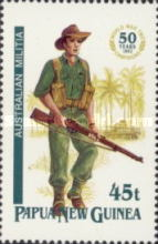 [The 50th Anniversary of the Second World War Campaigns in Papua New Guinea, type XI]