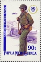 [The 50th Anniversary of the Second World War Campaigns in Papua New Guinea, type XK]
