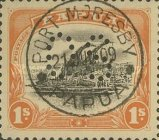 [Postage Stamps of 1907-1911 Perforated