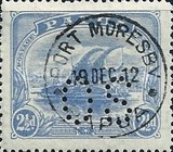 [Postage Stamps of 1911-1915 Perforated