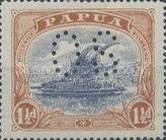 [Postage Stamps of 1916-1931 Perforated