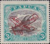 [Airmail - Numbers 58, 61 & 62 Overprinted in Red, type F1]