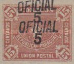 [Postage Stamp of 1889 Overprinted