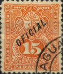 """[Postage Stamps of 1887 Overprinted """"OFICIAL"""", Typ J12]"""