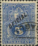 """[Postage Stamps of 1887 Overprinted """"OFICIAL"""", Typ J9]"""