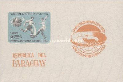 [Airmail - Football World Cup - Chile, Typ ]