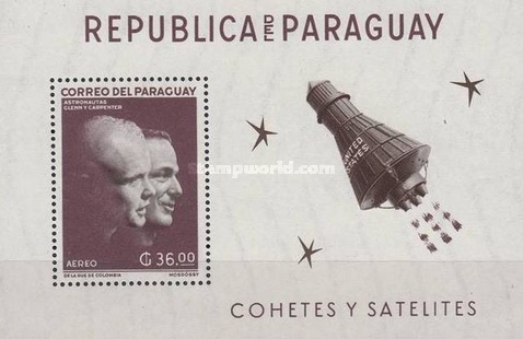 [Airmail - Manned Space Flights, Typ ]