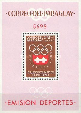[Airmail - Winter Olympic Games - Innsbruck 1964, Austria, Typ ]