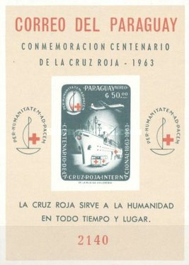 [Airmail - The 100th Anniversary of International Red Cross, Typ ]