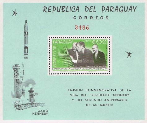 [Airmail - John F. Kennedy and Winston Churchill, Typ ]