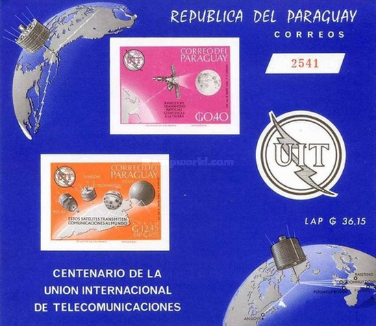 [Airmail - The 100th Anniversary of I.T.U., Typ ]