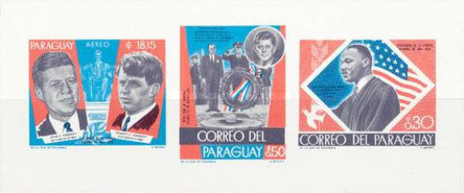 [Airmail - Events of 1968 in Changed Colors, Typ ]