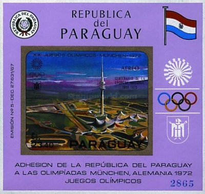 [Airmail - Olympic Games - Munich, Germany (1972), Typ ]