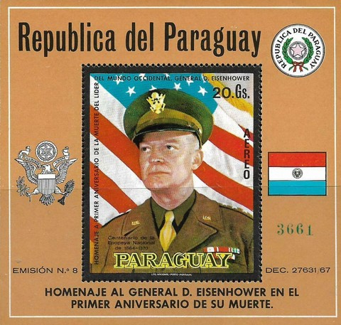 [Airmail - General Dwight D. Eisenhower Commemoration, 1890-1969, Typ ]