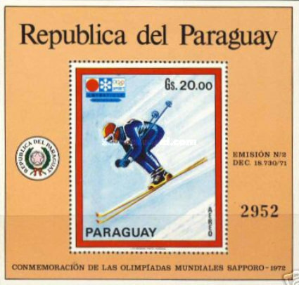 [Airmail - Winter Olympic Games - Sapporo, Japan, тип ]