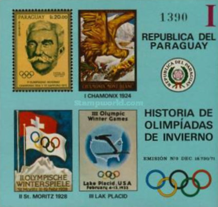 [Airmail - History of the Olympic Games, тип ]